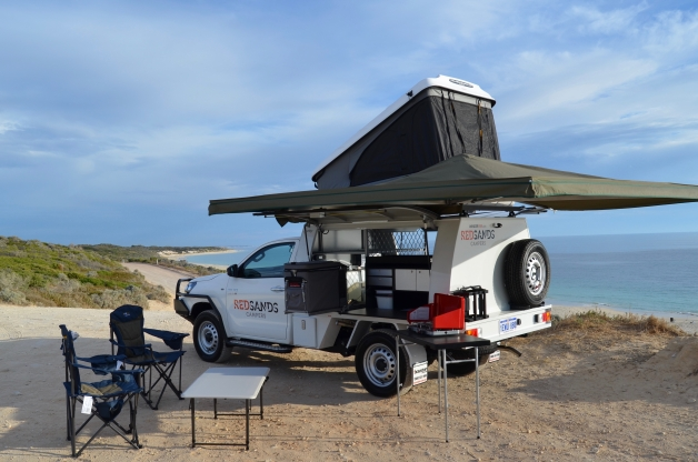 Rs 4wd Toyota Hilux With Rooftent Totally 4wd Campers