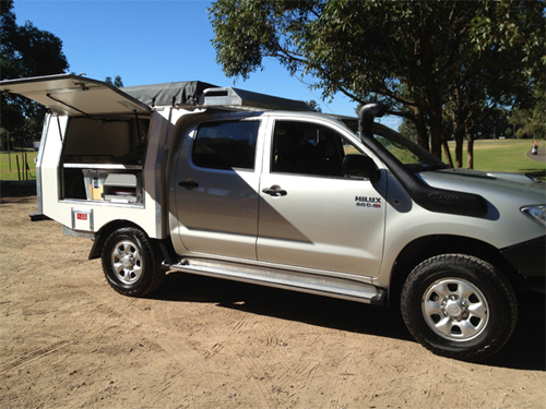 4wd toyota with fold out tent 2 5p totally 4wd campers
