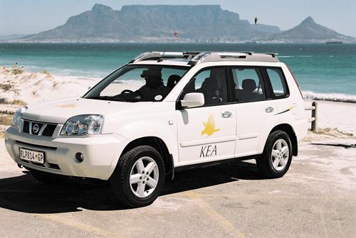 KEA SA 5p XT X-Trail 4x4 SUV - Totally 4WD Campers